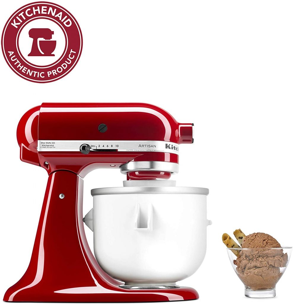 KitchenAid KICA0WH Ice Cream Maker